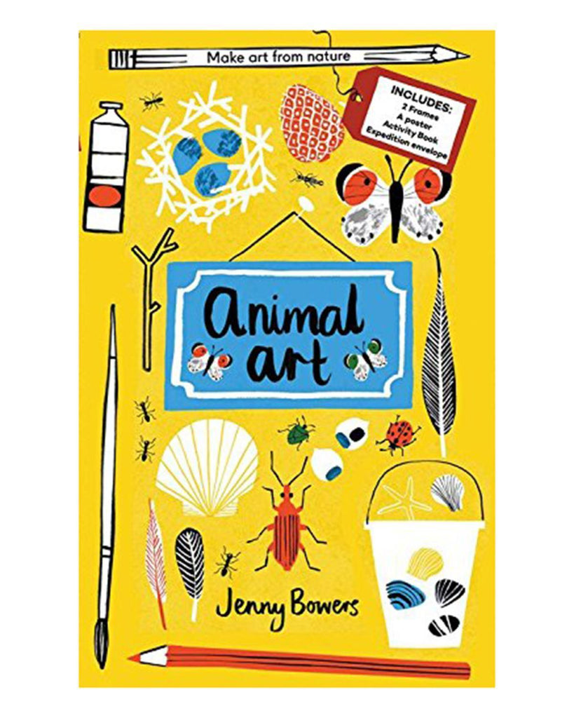 Little quarto publishing group play Animal Art: Make art from nature