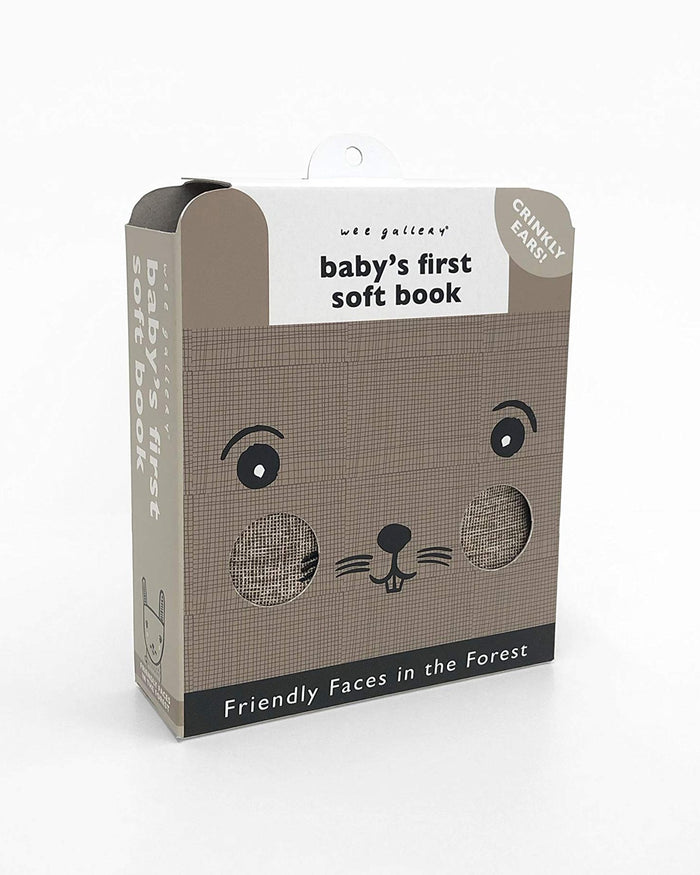 Little quarto publishing group play baby's first soft book: friendly faces in the forest