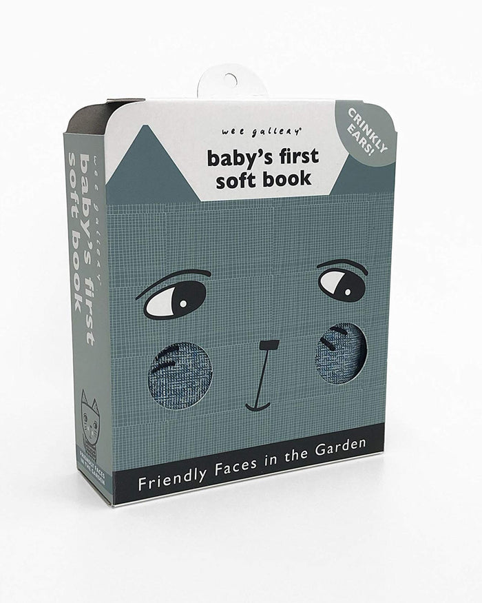 Little quarto publishing group play baby's first soft book: friendly faces in the garden