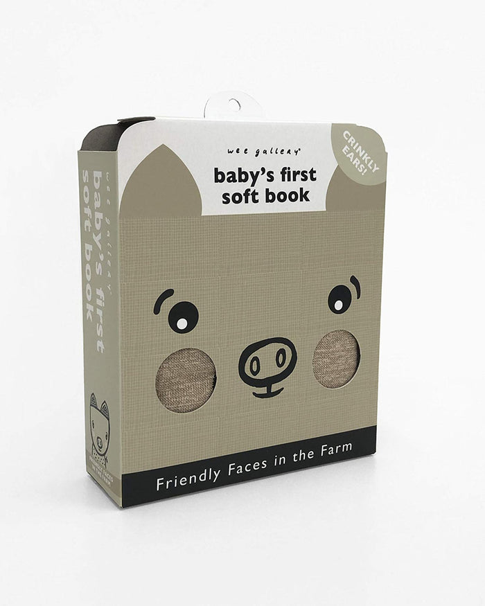 Little quarto publishing group play baby's first soft book: friendly faces on the farm