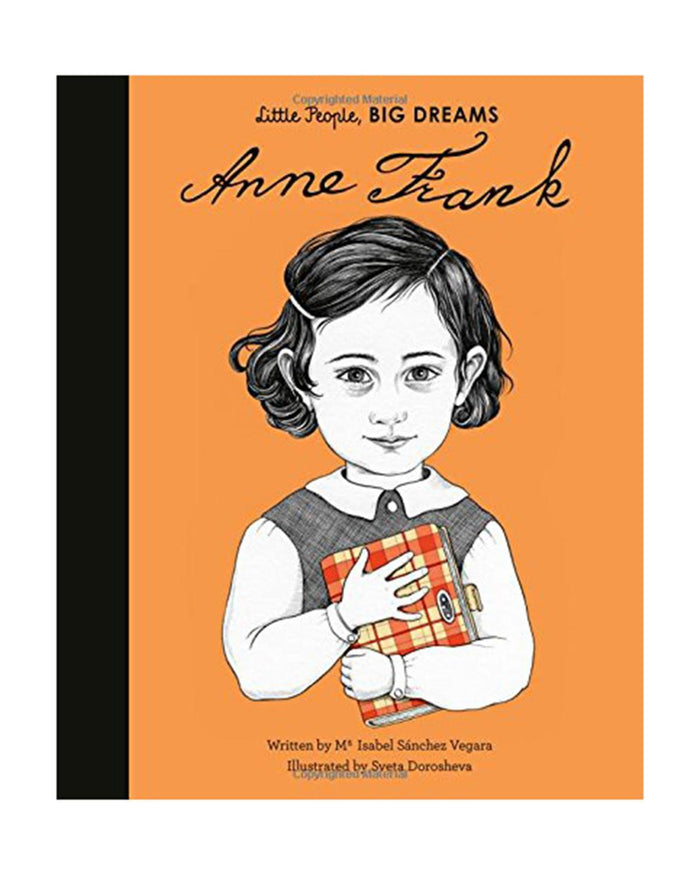 Little quarto publishing group play little people, big dreams: anne frank