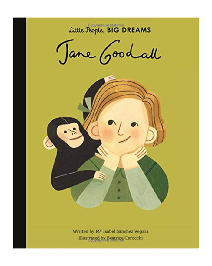 Little quarto publishing group play little people, big dreams: jane goodall