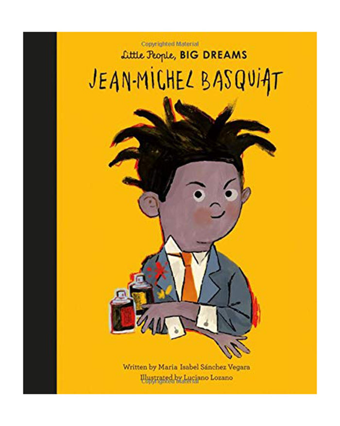 Little quarto publishing group play little people big dreams: jean-michel basquiat