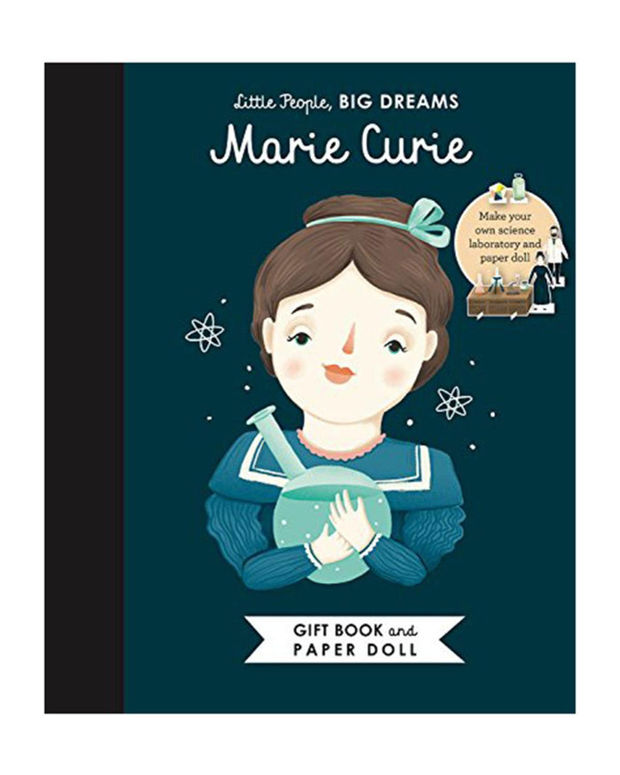 Little quarto publishing group play little people, big dreams: marie curie book + paper doll set