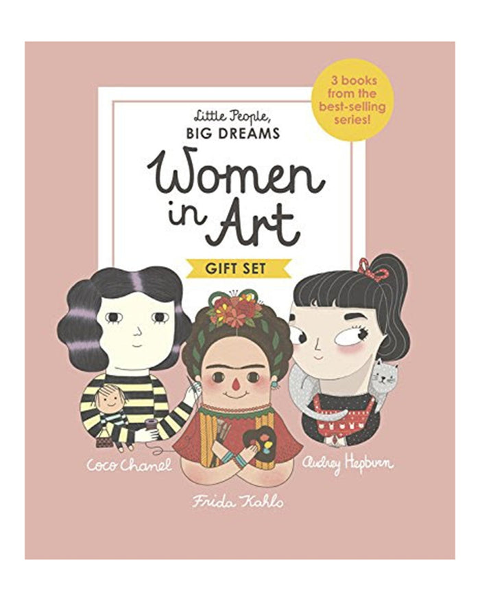 Little quarto publishing group play little people, big dreams: women in art