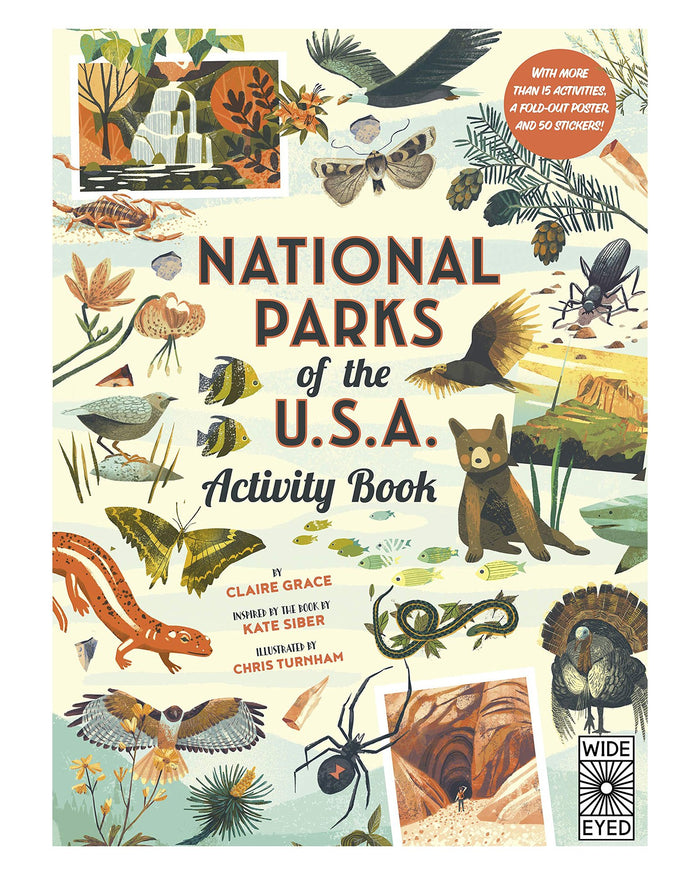 Little quarto publishing group play national parks of the usa: activity book