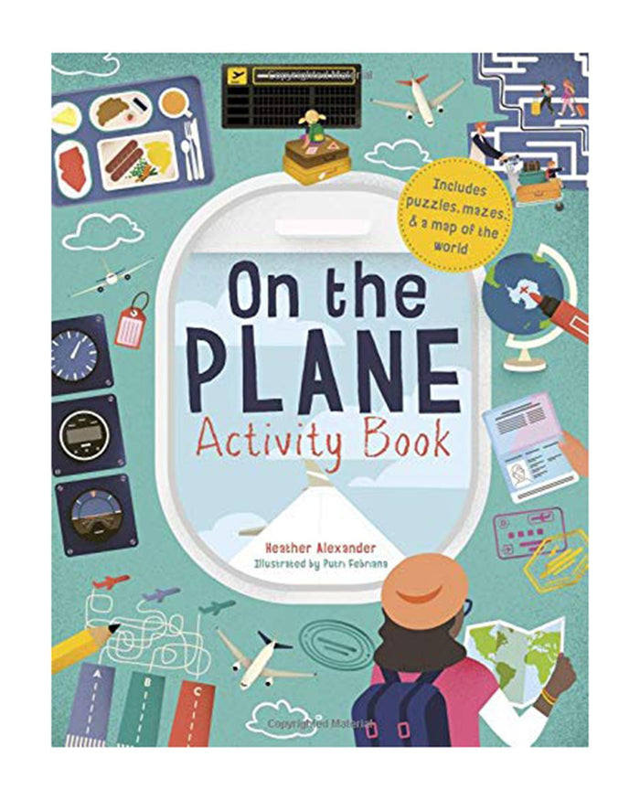 Little quarto publishing group play on the plane activity book