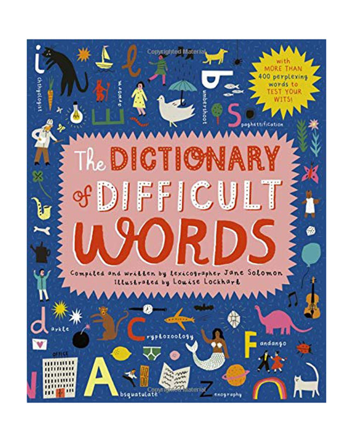 Little quarto publishing group play the dictionary of difficult wo