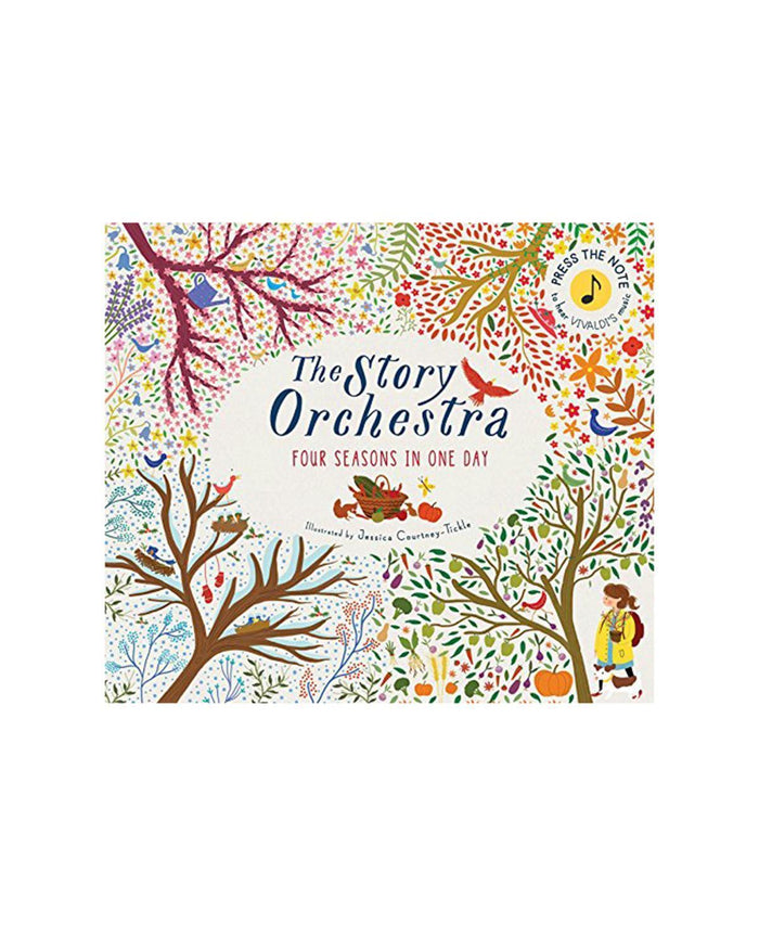 Little quarto publishing group play The Story Orchestra: Four Seasons in One Day