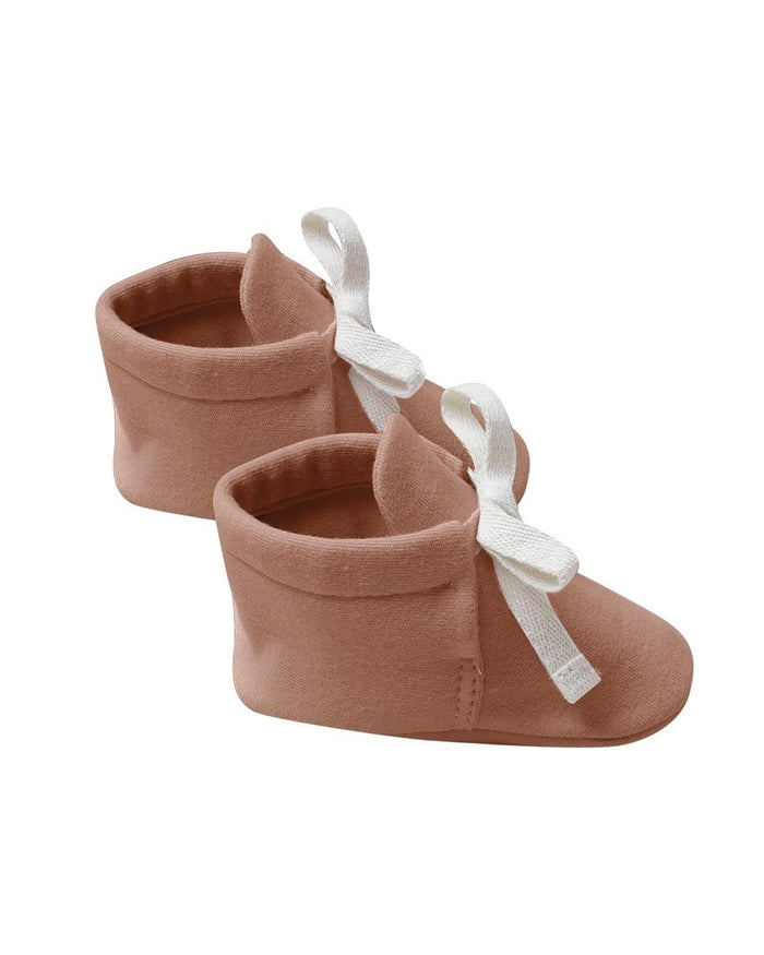Little quincy mae baby accessories baby booties in clay