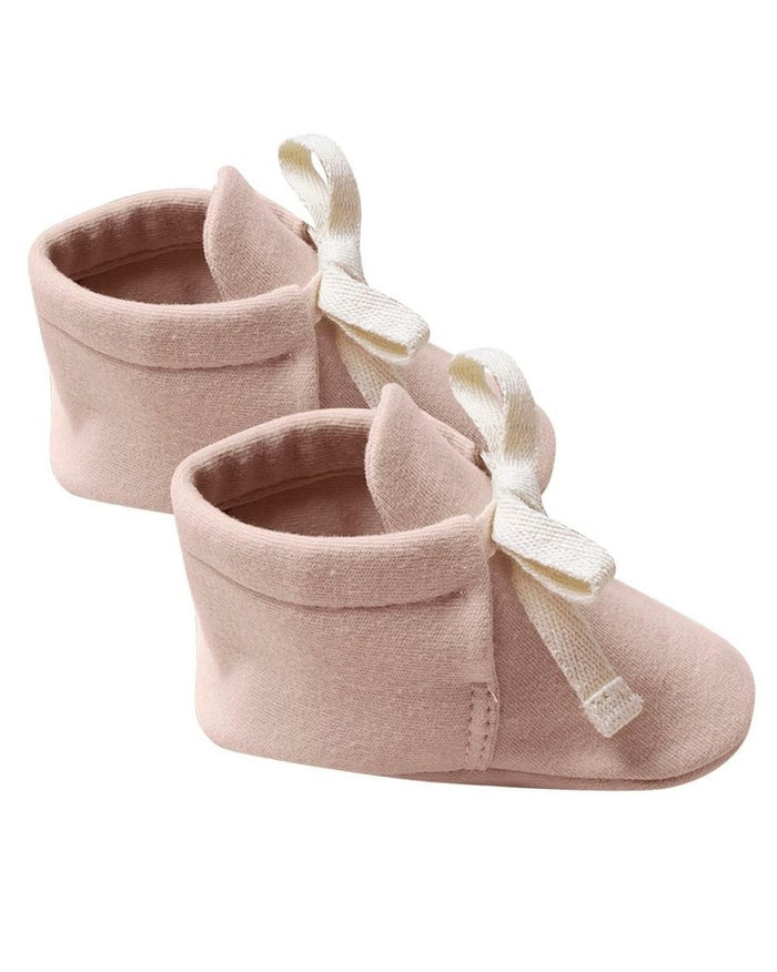 Little quincy mae baby accessories baby booties in petal