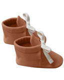 Little quincy mae baby accessories baby booties in rust