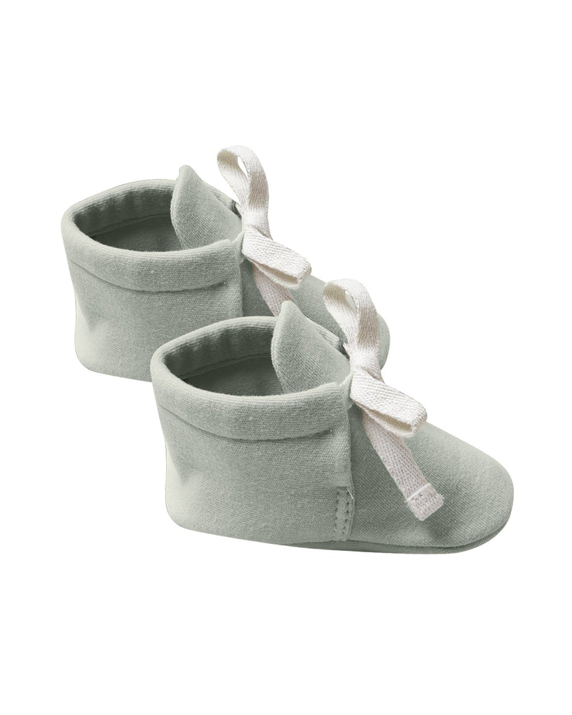 Little quincy mae baby accessories baby booties in sage