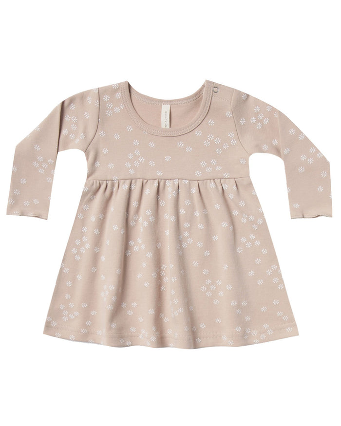 Little quincy mae baby girl baby dress in rose