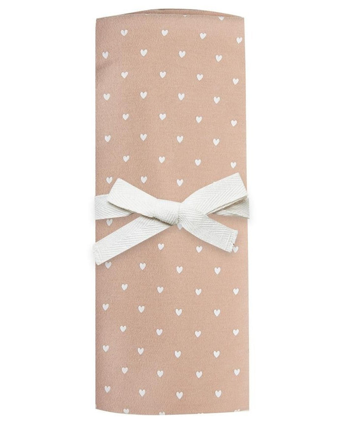 Little quincy mae baby accessories baby swaddle in petal