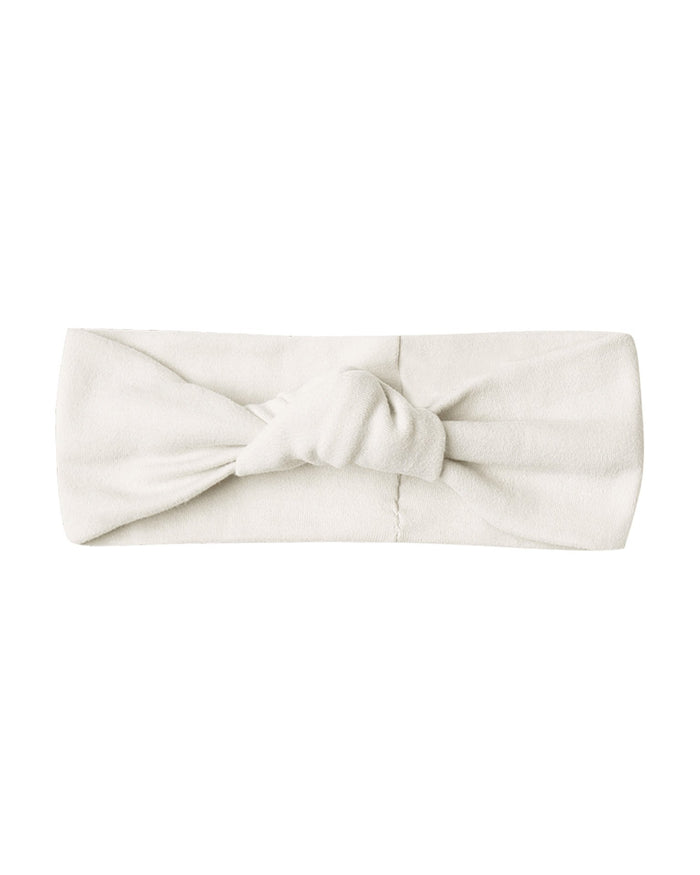 Little quincy mae baby accessories baby turban in ivory