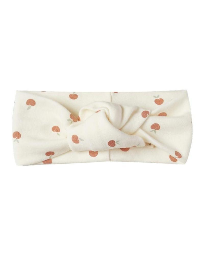 Little quincy mae baby accessories baby turban in ivory + peach