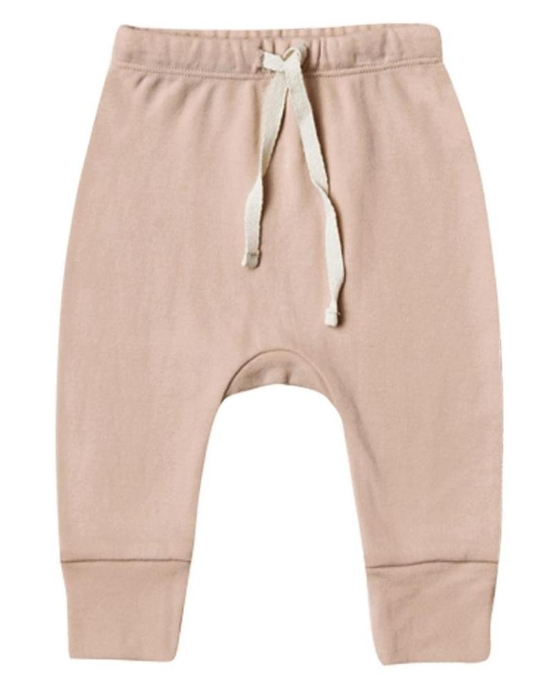 Little quincy mae baby girl drawstring pant in petal