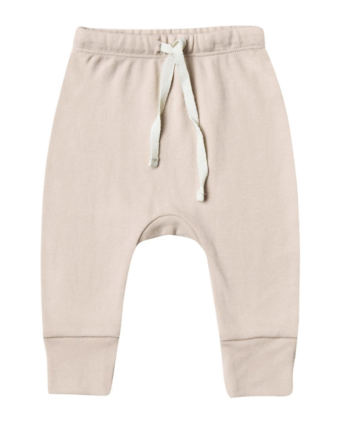 Little quincy mae baby girl 0-3 drawstring pant in rose