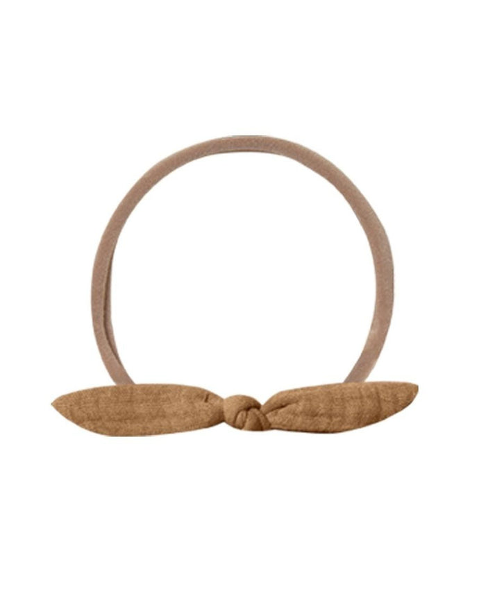 Little quincy mae accessories os little knot headband in walnut