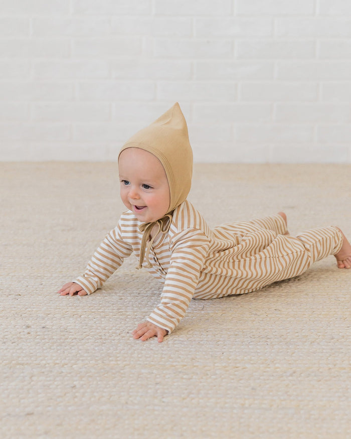Little quincy mae baby accessories pixie bonnet in honey