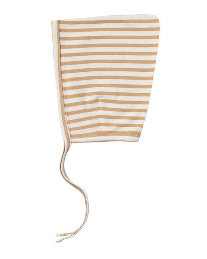 Little quincy mae baby accessories pixie bonnet in honey stripe