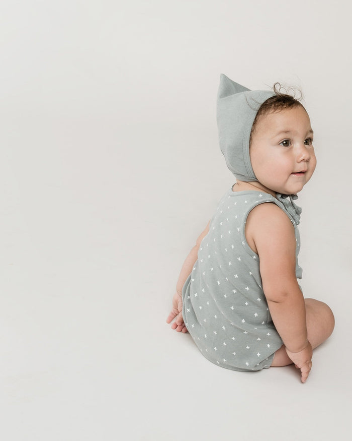 Little quincy mae baby accessories pixie bonnet in ocean