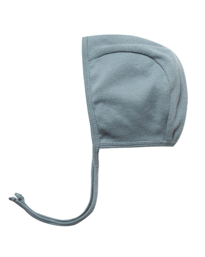 Little quincy mae baby accessories 0-3 ribbed baby bonnet in sea