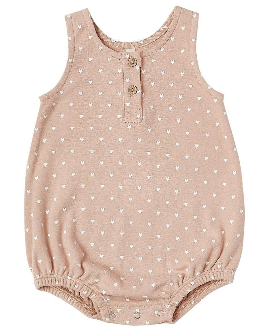 Little quincy mae baby girl sleeveless bubble in petal