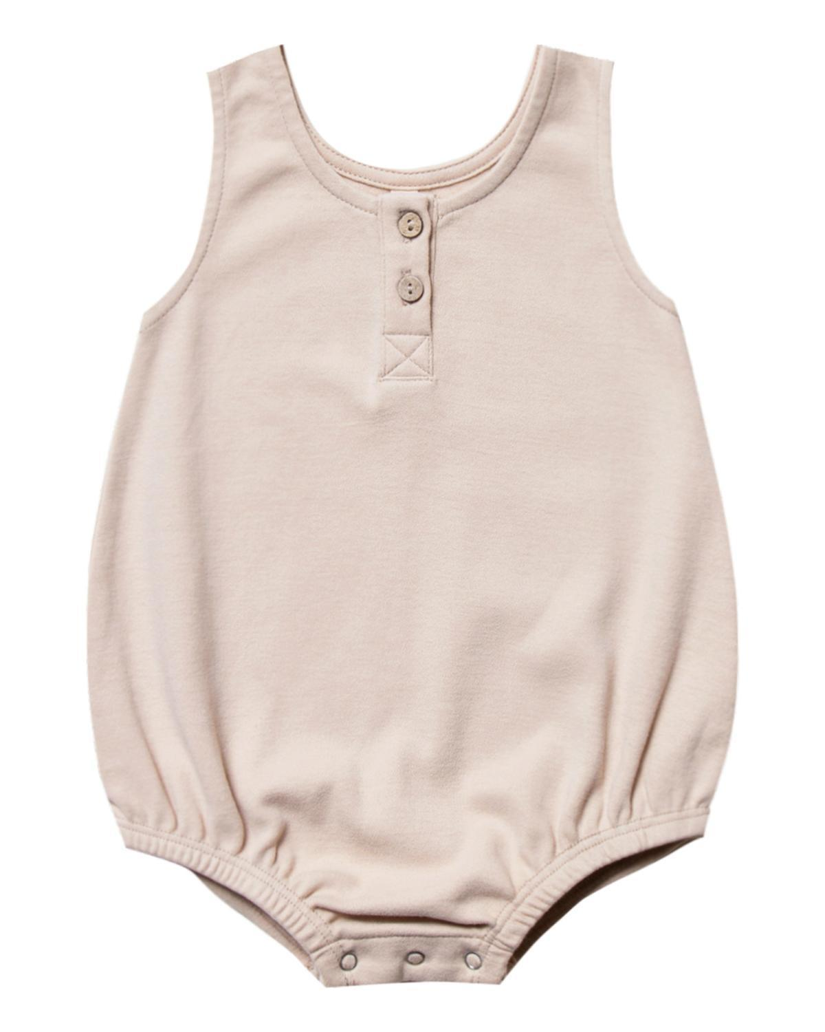 Little quincy mae baby girl 0-3 sleeveless bubble in rose