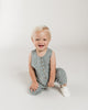Little quincy mae baby girl sleeveless jumpsuit in ocean