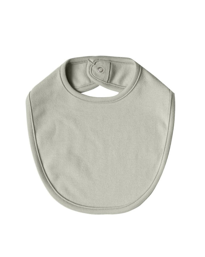 Little quincy mae baby accessories os snap bib in sage
