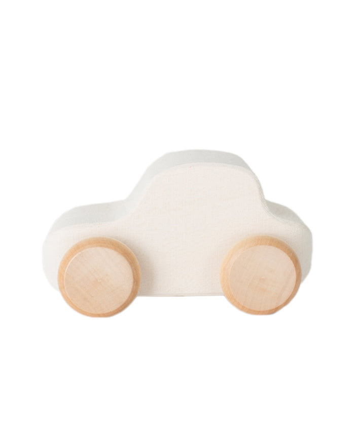 Little raduga grez play white toy car