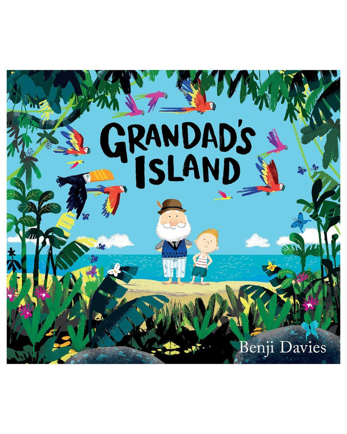 Little random house play Grandad's Island