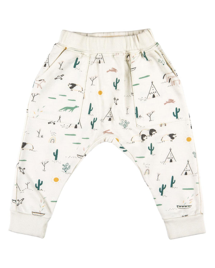 Little red caribou baby boy 0-3 native desert terry baby jogger in ivory