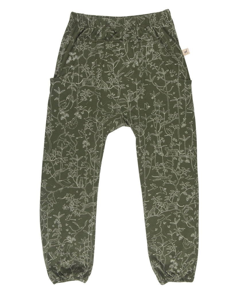 Little red caribou girl the canopy pants in chive