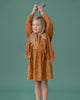 Little red caribou girl the canopy pockets dress in glazed ginger
