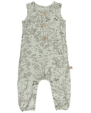 Little red caribou baby girl the canopy tank jumpsuit in almost aqua