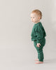 Little red caribou baby girl the story baby jogger in antique green