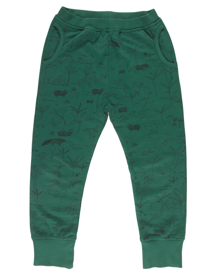Little red caribou girl the story jogger in antique green