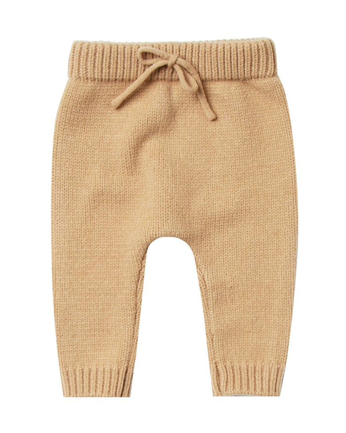 Little rylee + cru baby boy baby gable pant in honey