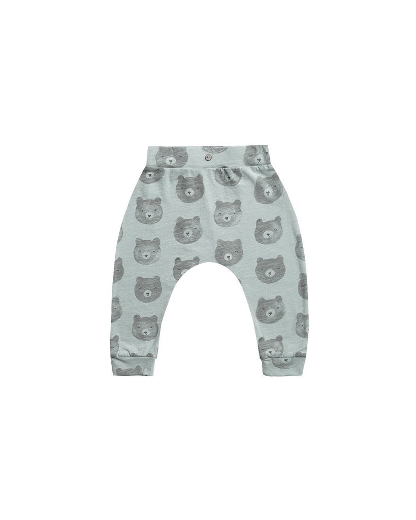 Little rylee + cru baby boy bears slouch pant