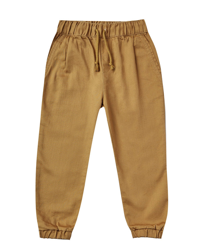 Little rylee + cru girl beau pant in goldenrod