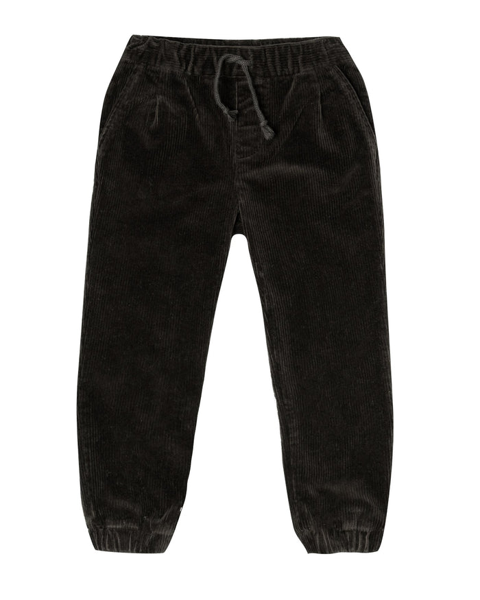 Little rylee + cru girl beau pant in vintage black