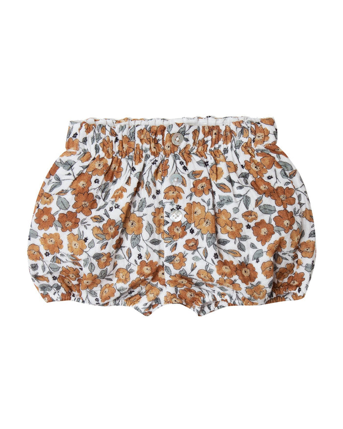 Little rylee + cru baby girl bloom button short