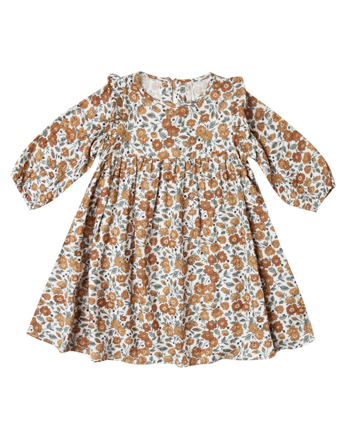 Little rylee + cru girl bloom piper dress