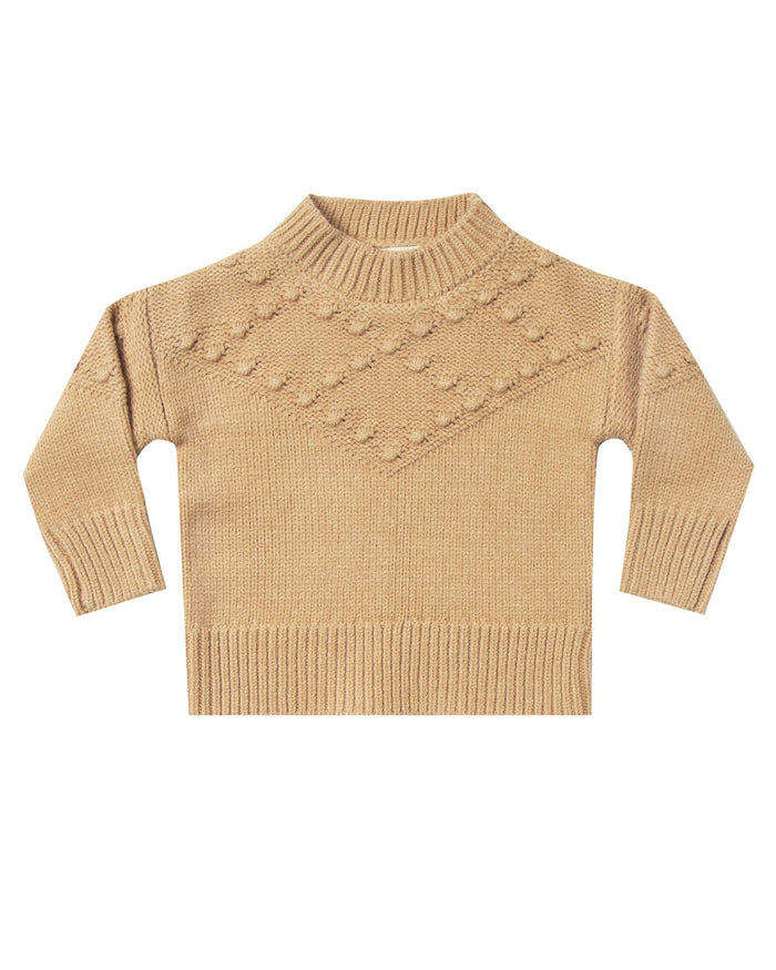 Little rylee + cru girl bobble sweater in honey