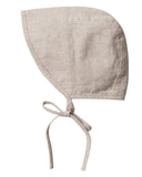 Little rylee + cru baby accessories brimmed bonnet in flax