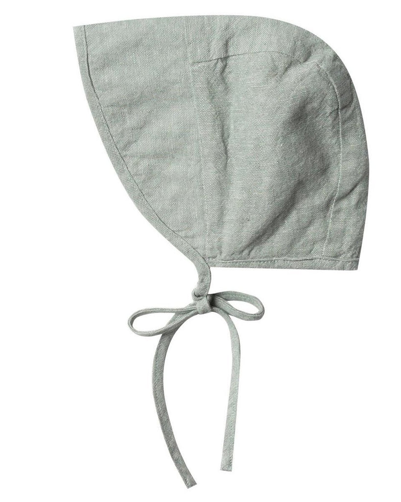 Little rylee + cru baby accessories brimmed bonnet in seafoam