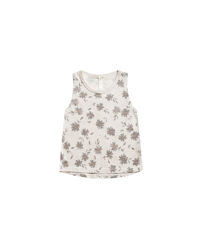 Little rylee + cru boy daisies muscle tank